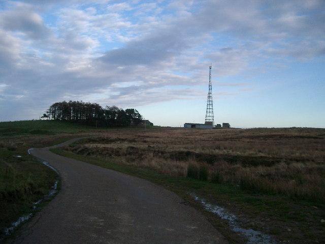 Radio Mast and Quarry House Farm