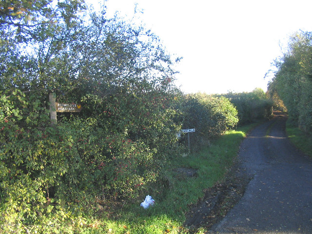 Permissive Footpath near Writtle, Essex