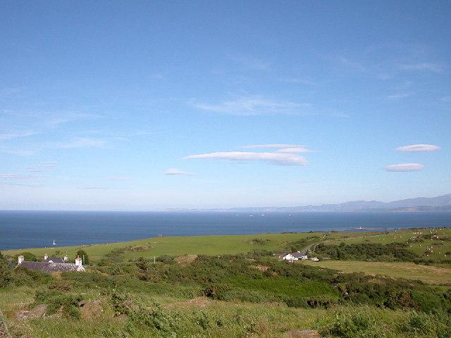 Coastline near Mynydd Eilian