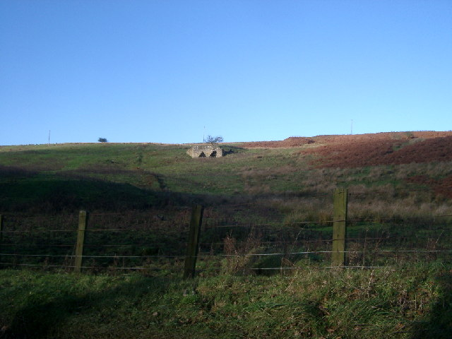 Rough pastures southeast of the lime kiln northeast of Grasslees