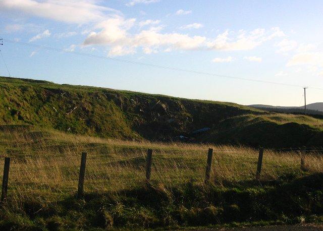 Quarry, Whitfield.