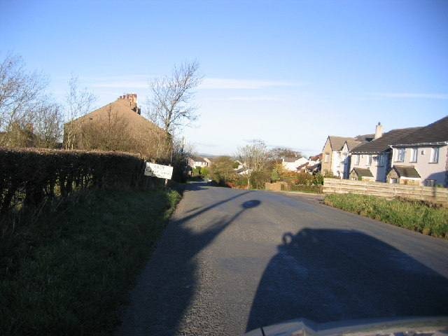South road entrance to Asby