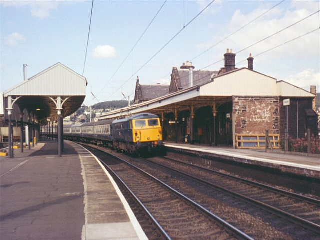 Penrith Railway Station, August 1974