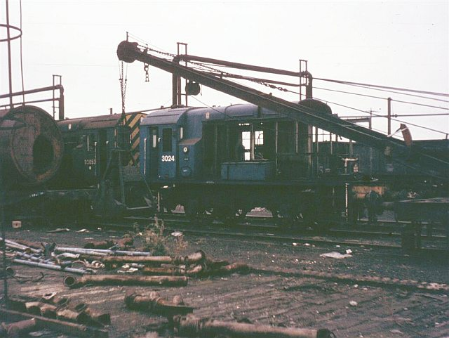 Loco Works Scrap Line, Doncaster