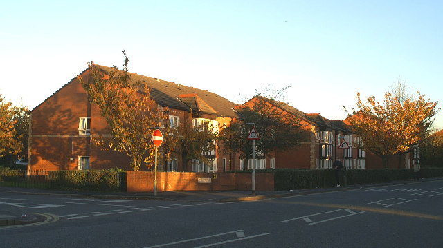 Windleshaw House, junction of Windleshaw Street and Warrington Road, Lower Ince, from North