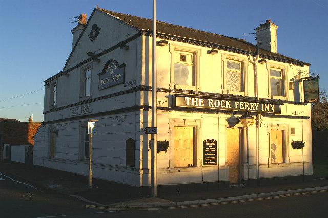 The Rock Ferry Inn on Warrington Road, Lower Ince