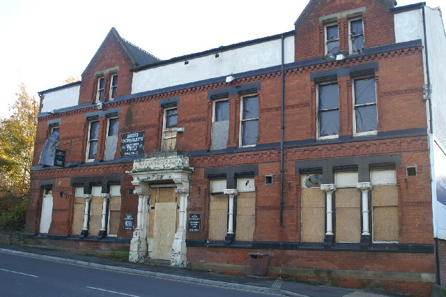The Rock Hotel, Warrington Road, Lower Ince