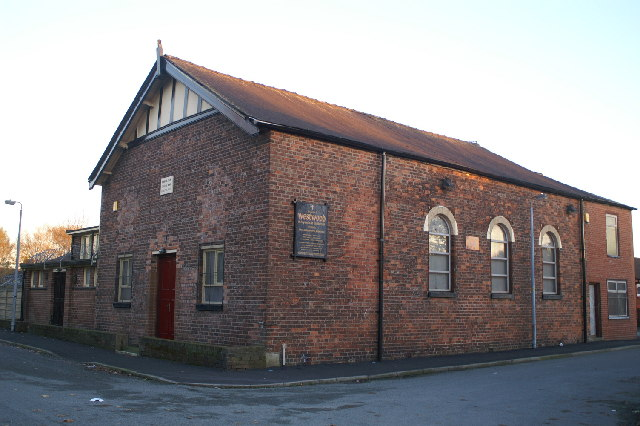 Independent Methodist Church, on Chapel Street, James Street, Lower Ince