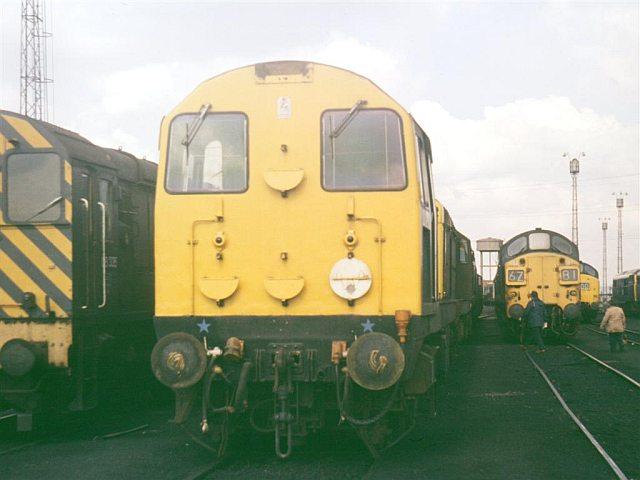Class 20 Loco 20127, Tinsley Depot May 1976