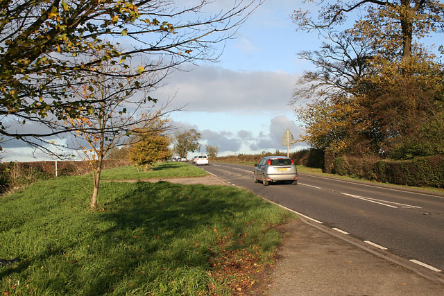 A607 near Waltham on the Wolds