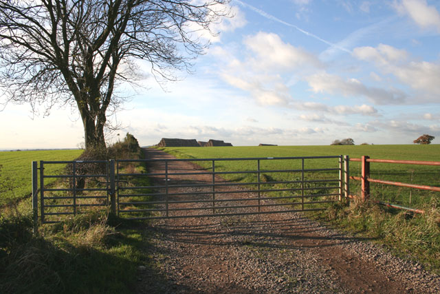 Farmland near Waltham on the Wolds, Leicestershire