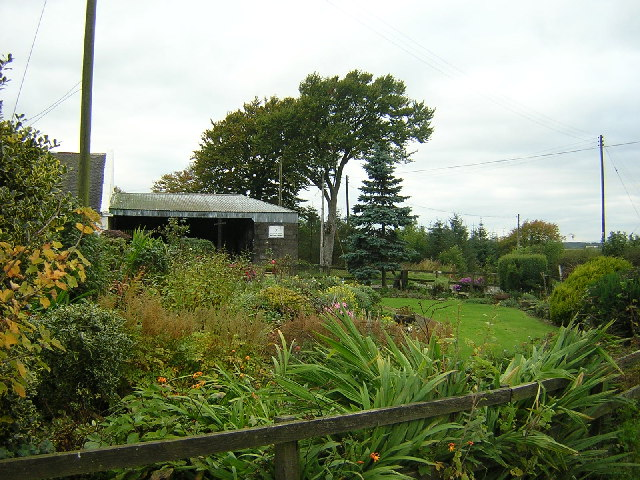 Garden in Front of Millwell Farm