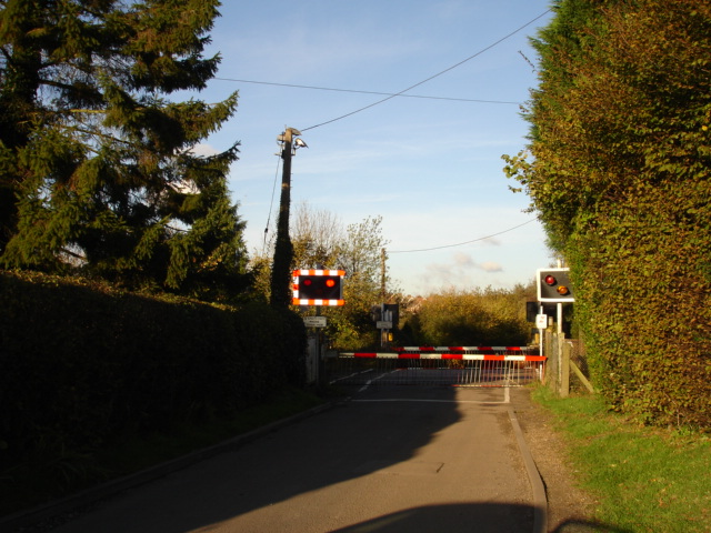 Level Crossing at Mountfield East Sussex
