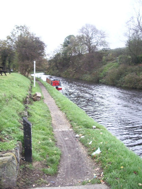 Narrow Boat and Tow Path