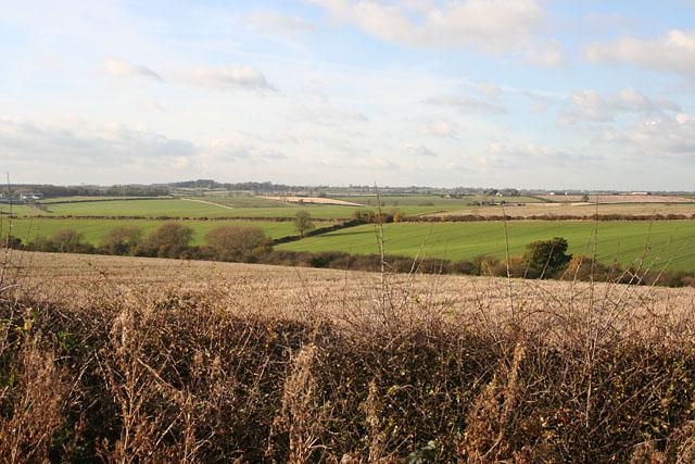 Farmland near Thorpe Arnold, Leicestershire