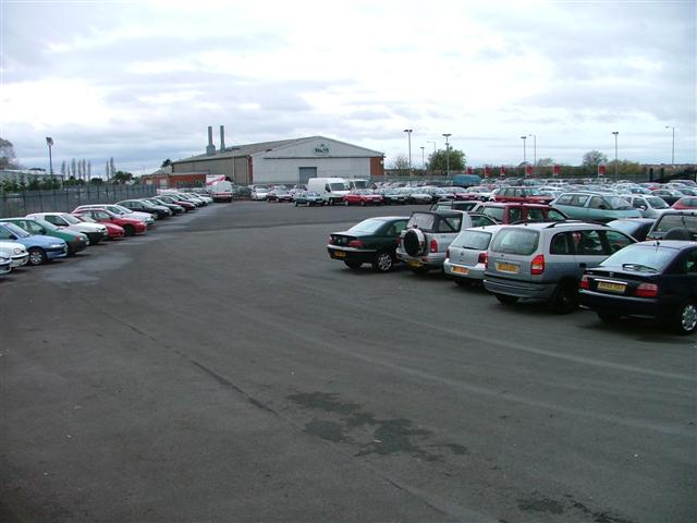 Manheim Car Auctions Storage Area
