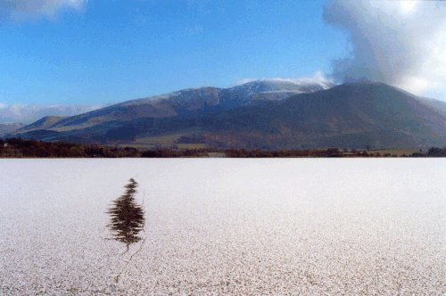 Bassenthwaite Lake in Winter