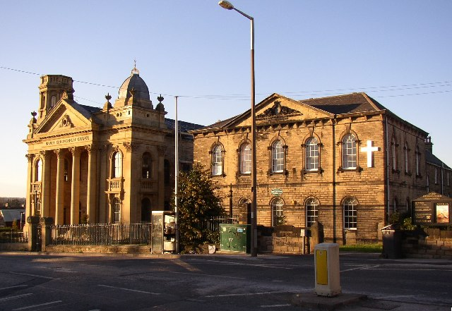 Upper Independent Chapel and Sunday School, High Street, Heckmondwike
