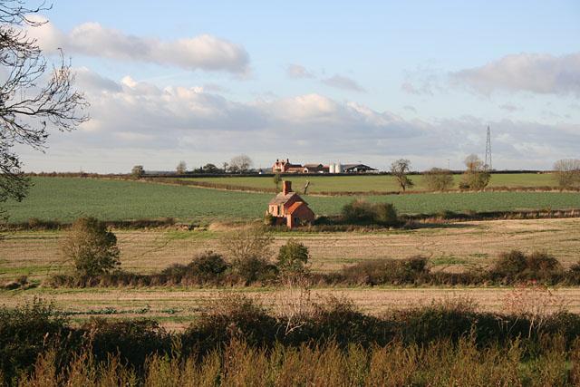 Farmland near Pinfold Lees Hill, Melton Mowbray