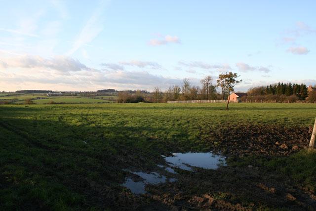 Farmland on Melton Spinney Road