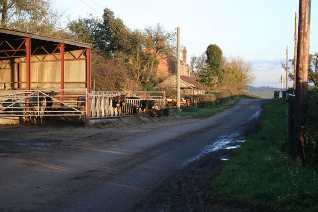 Grange Farm near Scalford