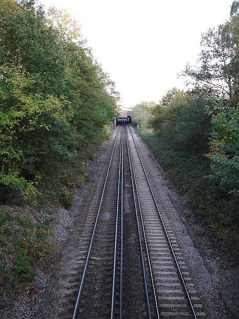 Railway under railway