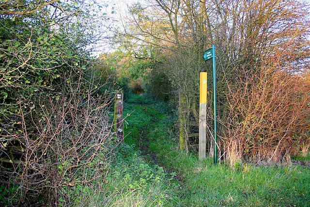 Bridleway near Scalford Hall