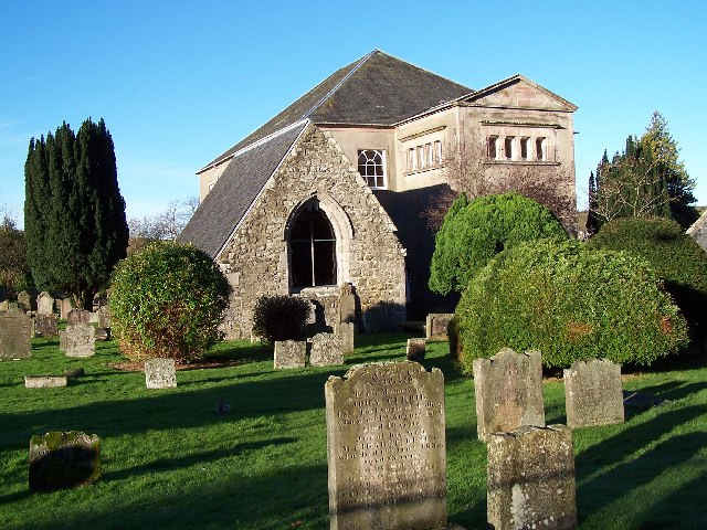 Bute, Cemetery