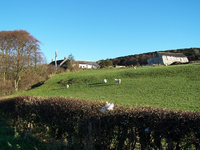 The leaning shed of Kilwhinlock Farm