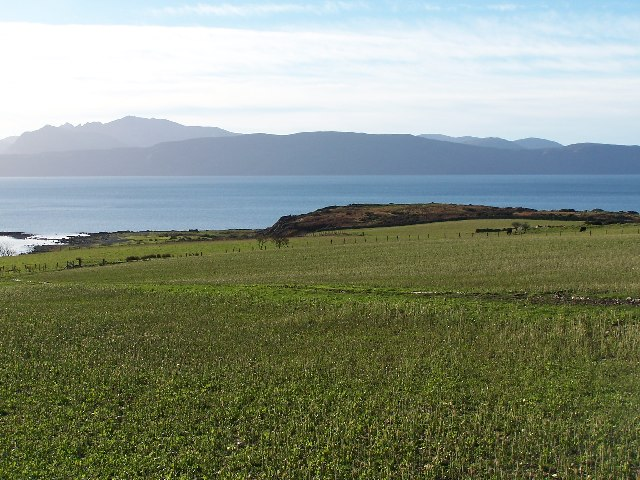 Farmland at Port na h-Aille