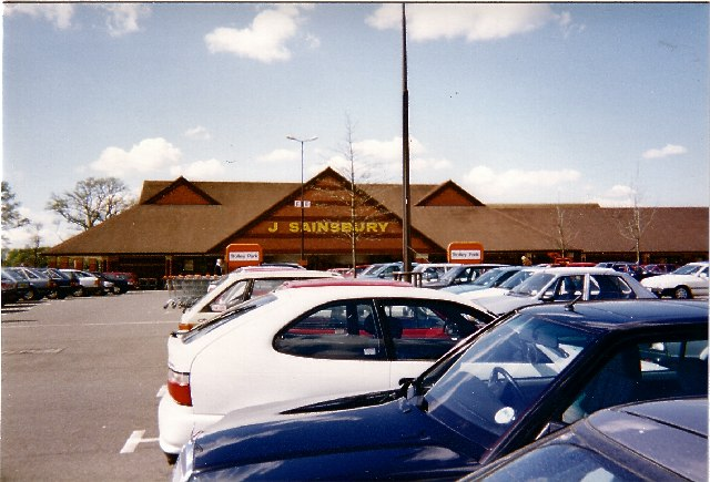 Sainsbury Supermarket, West Green, Crawley