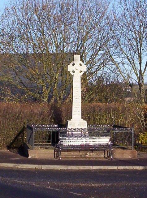 War Memorial in North Craigo