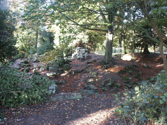 Rockery, Earlham Hall