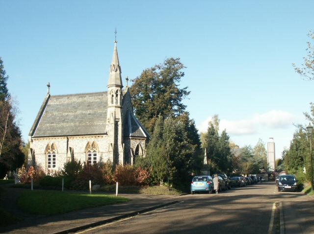 Chapel, Earlham cemetery