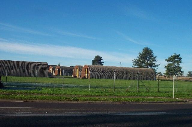 Nissen Huts at Norton Fitzwarren