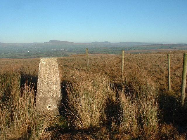 Trig Pillar Whit Moor