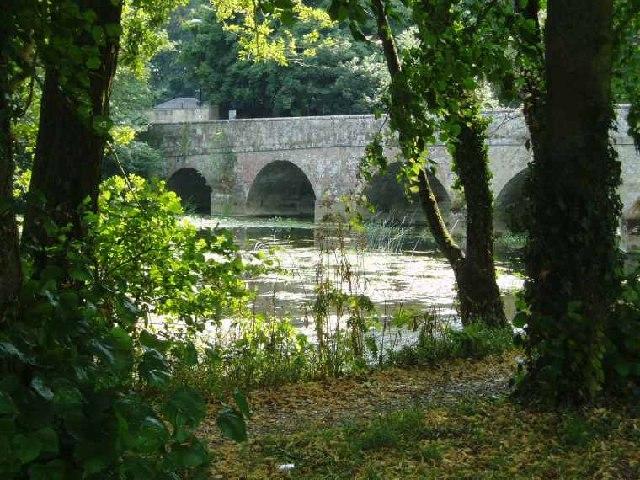 Stone Bridge at Blandford Forum