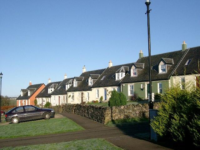 Traditional housing at Sandford