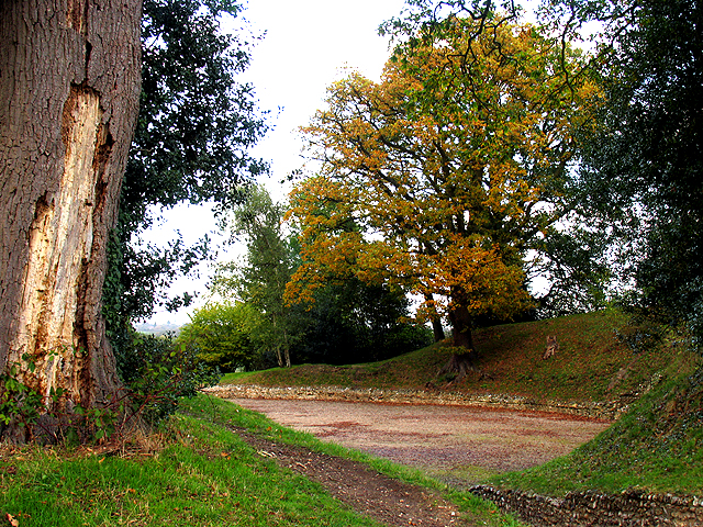 The Amphitheatre at Calleva near Silchester