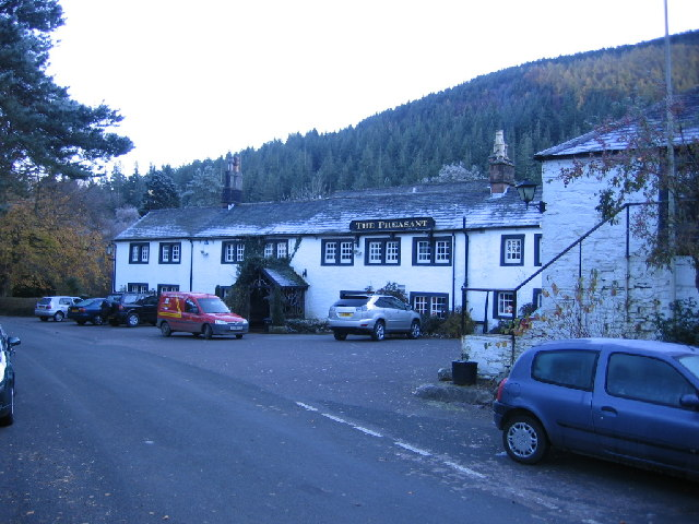 The Pheasant Inn Hotel.