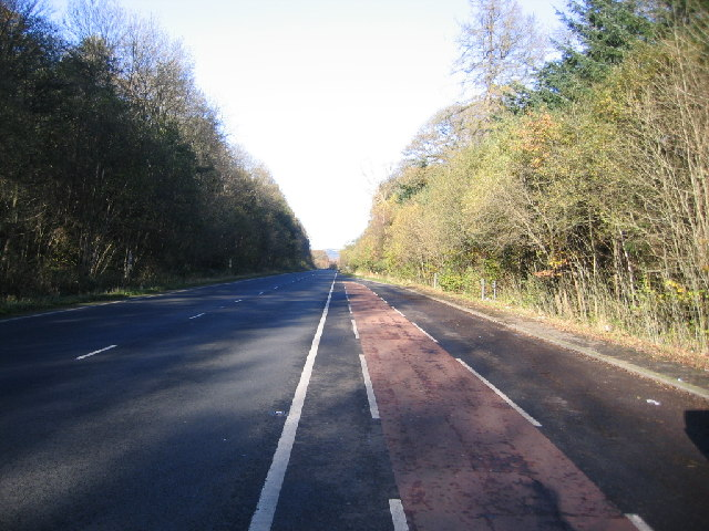 A66 Trunk road looking north west