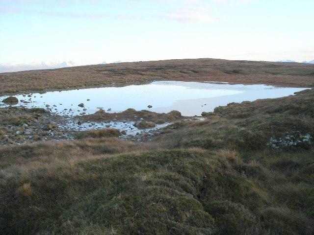 Lochan on Maol Breac