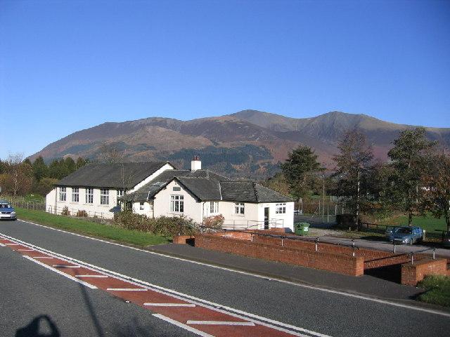 Village hall at Braithwaite.