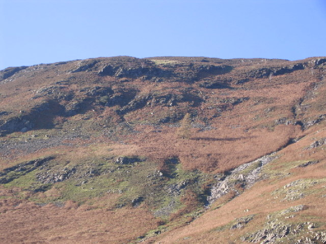 Lower flanks of Maiden Moor and Black Crag