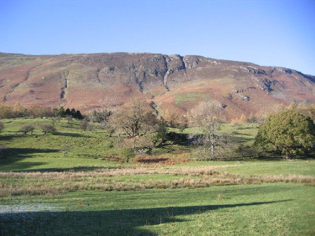 Farmland under Narrow Moor.