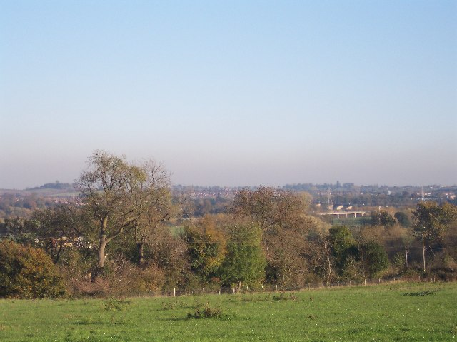 View from Ham Hill, Powick