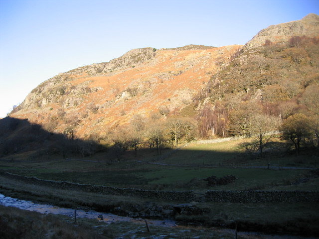 Goat Craggs and Reecastle Cragg