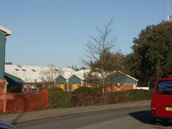 Part of Rushington Business Park, Totton, Hants.