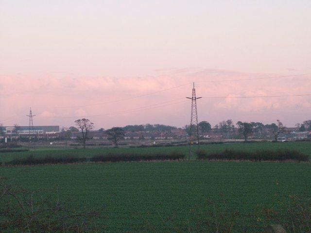 View of West Park Development, Darlington