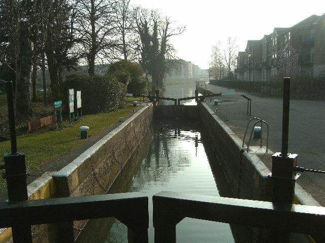 Town Lock, River Nene, Northampton